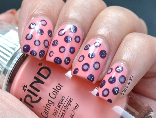 Trind Mighty Macaron Polka Dotted Nail Art Review