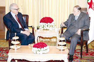 Lakhdar Brahimi, président ?