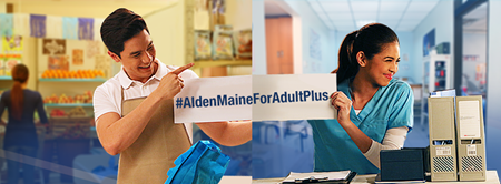 Alden and Maine for Adult Plus
