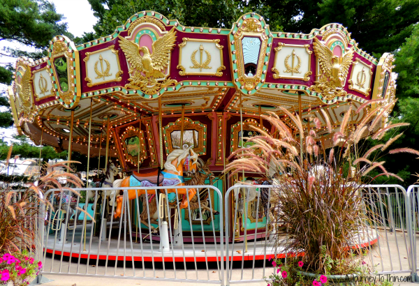 Carousel at zoo
