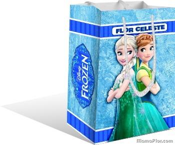 Imprimir Frozen Convite