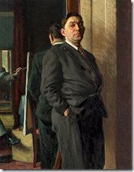 Aleksandr Ivanovich Laktionov_Male Portrait