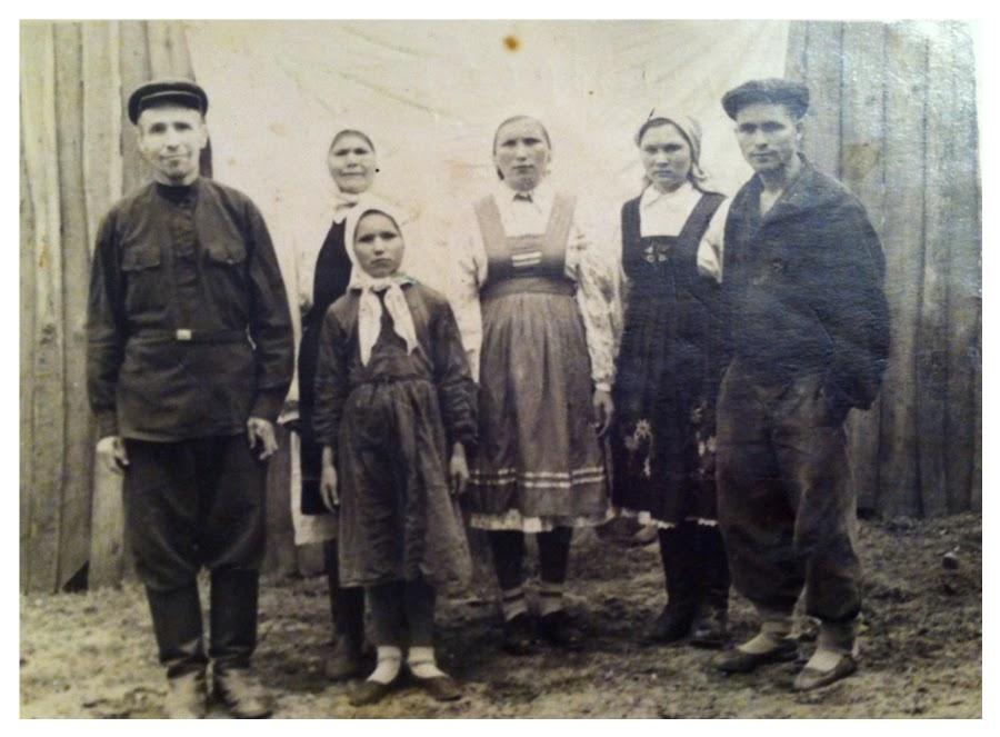 Семейное фото 50-ые годы