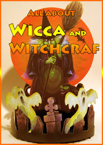 Cover of Anonymous's Book All About Wicca and Witchcraft