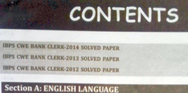 IBPS Clerk Exam Book Review 2