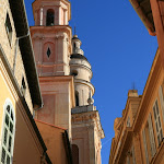 Clochers de la chapelle de l'Immaculée-Conception et de la basilique Saint- Michel Archange