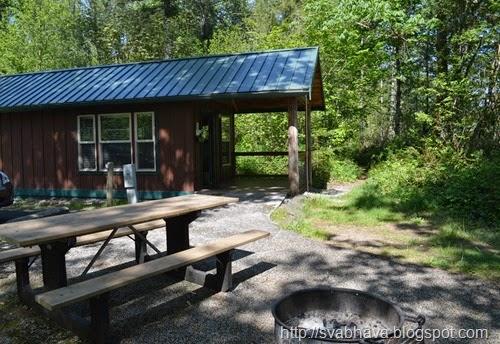 Ike Kinswa State Park Cabin