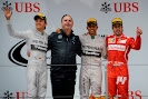 2014 China podium: 1. Hamilton 2. Rosberg 3. Alonso