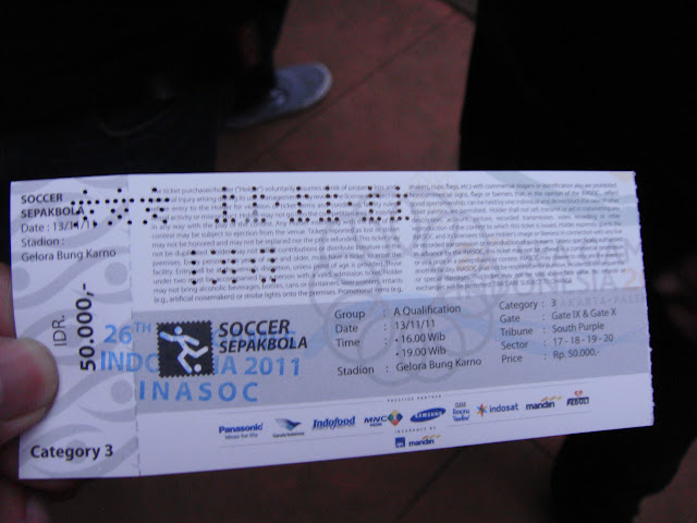 Tiket GBK