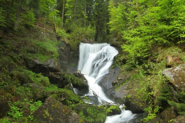 Silky Triberger Falls of Triberg, Germany