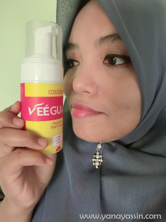 Vee Guard Foam atasi masalah Keputihan dan Kegatalan