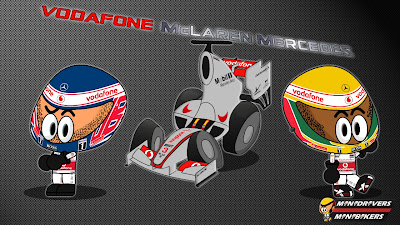 McLaren MP4-24 2012 Los MiniDrivers