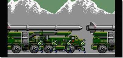 Green Beret demo MSX2
