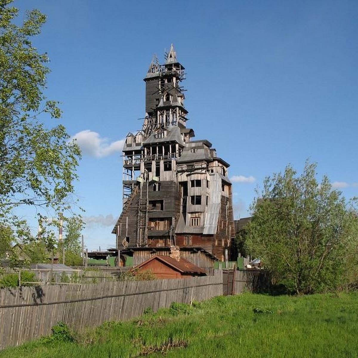 The Log House of Nikolay Sutyagin