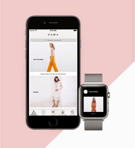 Zara for Apple Watch | Source: Zara