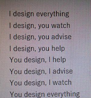 Interesante idea sobre cómo cobrar a un cliente por un trabajo de diseño