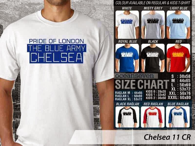 KAOS Chelsea 11 Liga Premier Inggris distro ocean seven