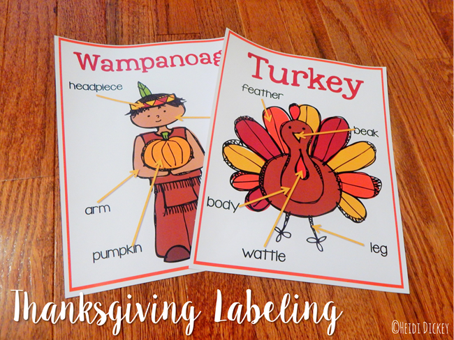 Thanksgiving Labeling2