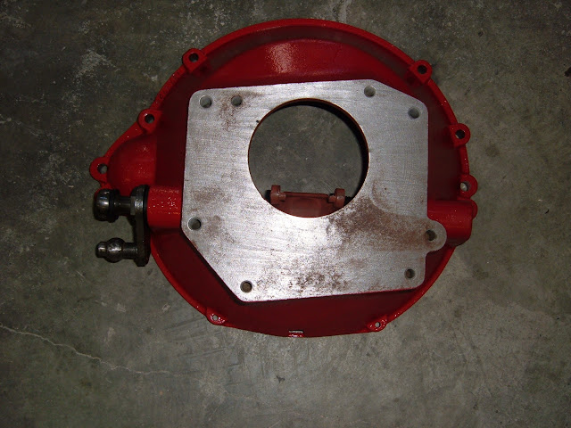 Factory 65-66 GS stick bellhousing used. only one 475.00