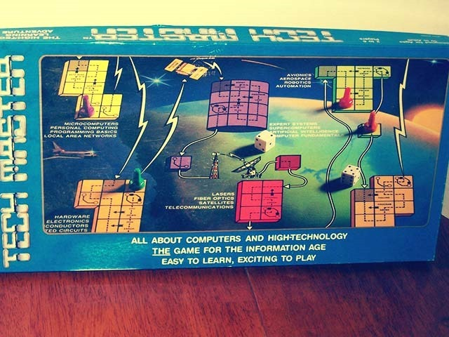 Tech Master Board Game Front Side