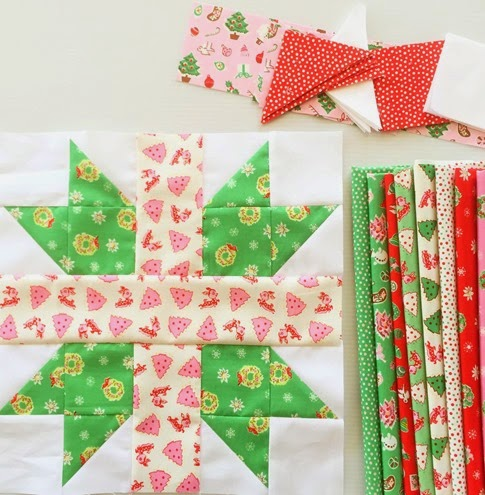 Little Joys - Christmas Star Block