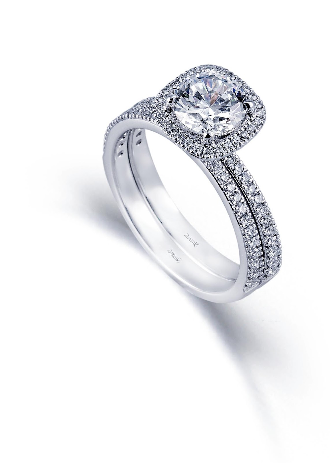 Simon G. Platinum Wedding Ring