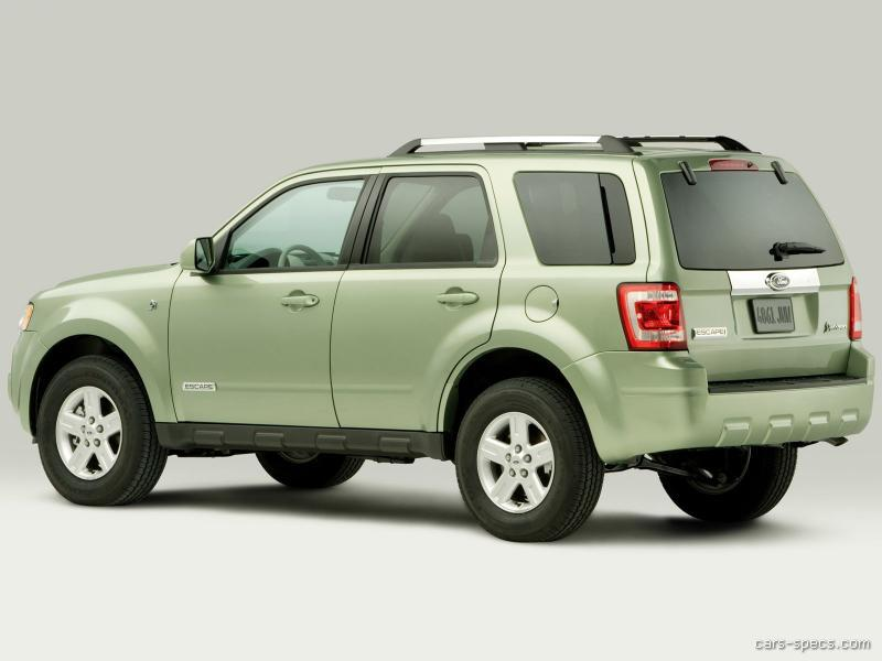 2011 ford escape hybrid suv specifications pictures prices. Black Bedroom Furniture Sets. Home Design Ideas