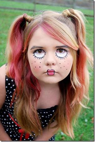 maquillaje-muñeca-halloween