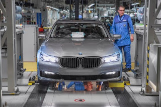 BMW Série 7 : aussitôt annoncée, aussitôt produite