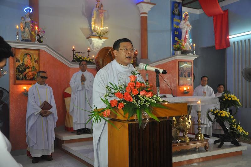Hình ảnh thánh lễ bổ nhiệm và thành lập giáo xứ Chánh Thạnh