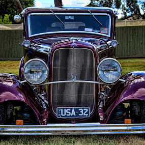 32 Ford Custom by Peter Cannon - Transportation Automobiles ( canon, automobiles, vintage, cars, transportation, custom )