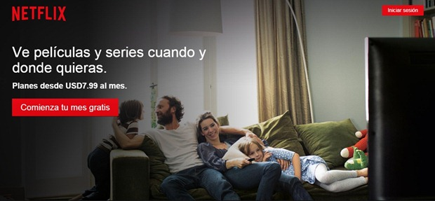 Abri mi cuenta Netflix