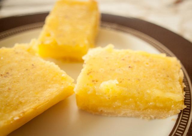 Lavender Lemon Squares