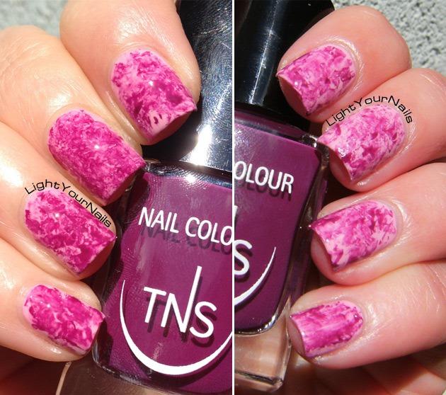TNS 426 Mon Amour + TNS 427 Rose Macarons saran wrap