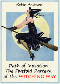 Cover of Robin Artisson's Book Path of Initiation The Fivefold Pattern of the Witching Way