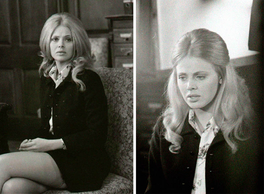 Swedish actress Britt Ekland: Hayley Mills in Truth About Spring: