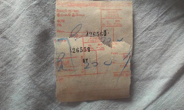 Автобусные билеты, Шри Ланка