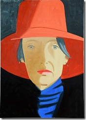 ALKA_Red_Hat_Cynthia_2013__Oil_on_canvas0