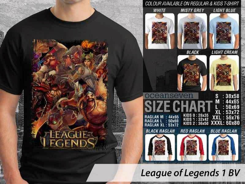 Kaos Game Online League of Legends 1 distro ocean seven