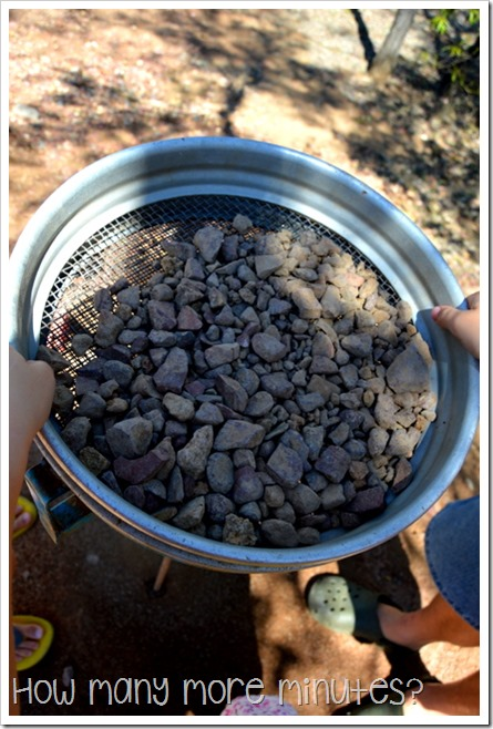 Fossicking for Gemstones in Rubyvale | How Many More Minutes?
