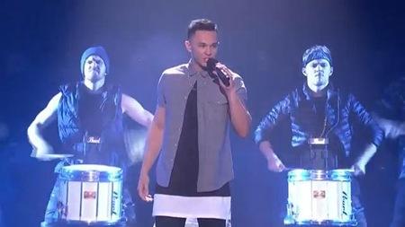 Cyrus Villanueva on X Factor Australia Top 7 Live Shows