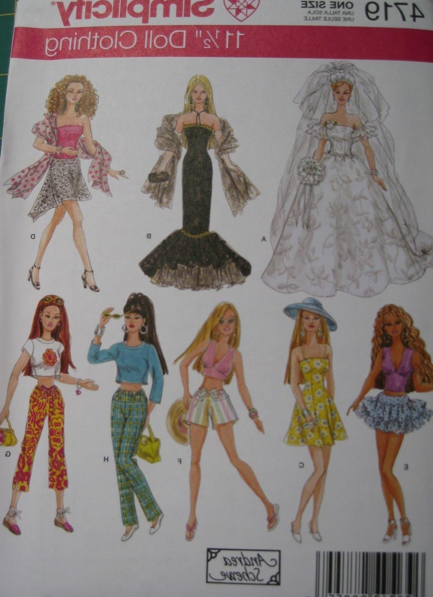 This free crochet pattern is beautiful. . Barbie Doll Wedding Dress Pattern