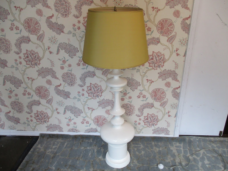 Baroque Inspired Floor Lamp