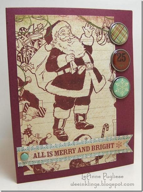 LeAnne Pugliese WeeInklings MME Santa Christmas