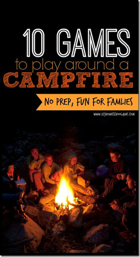 12 Camping Games to Play Around the Campfire