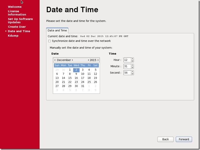 Install OS Screen 41