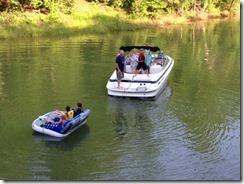 Lego boating