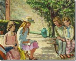 vanessa_bell_children_in_the_sunlit_garden_d5645760h