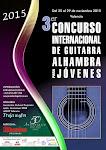 1: 3er Concurso Internacional de Guitarra Alhambra para Jóvenes 2015