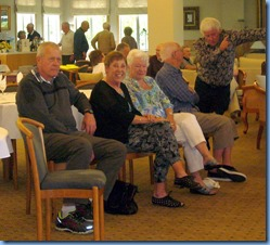 Members enjoying the Party. Photo courtesy of Diane Lyons